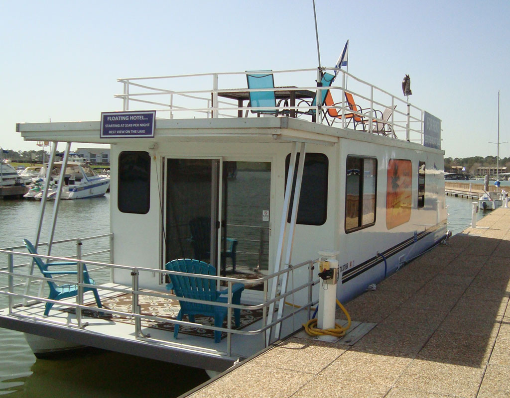 Houseboats For Sale Lake Conroe Waterpoint Marina