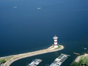 Lighthouse on Lake Conroe
